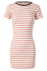 Edith A. Miller Striped Cotton Dress - Lyst
