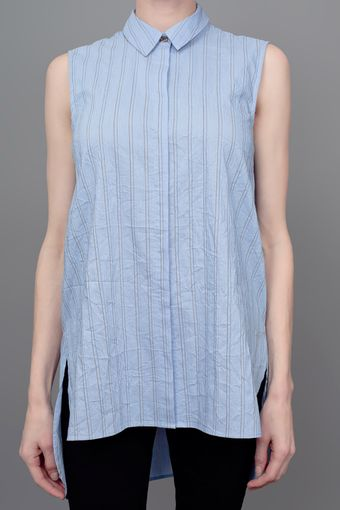 Elizabeth And James Estelle Sleeveless Button Down Shirt - Lyst