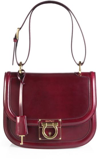 Ferragamo Lockstory Jody Shoulder Bag - Lyst