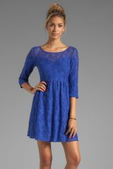 Free People Shake It Up Dress in Blue - Lyst