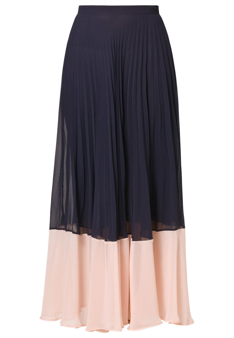 connection summer spells maxi skirt blue in blue lyst
