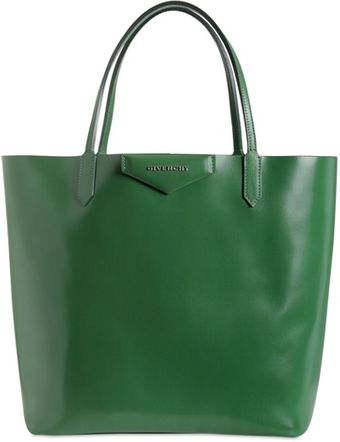 Givenchy Medium Antigona Shopping Glazed Leather - Lyst