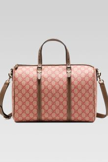 Gucci Nice Gg Supreme Canvas Boston Bag - Lyst