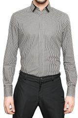 Lanvin Checked Poplin Shirt - Lyst