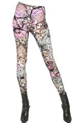 Mary Katrantzou Printed Modal Jersey Leggings - Lyst