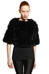 Meteo Rex Rabbit Fur Jacket - Lyst