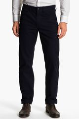 Michael Kors Straight Leg Twill Pants - Lyst