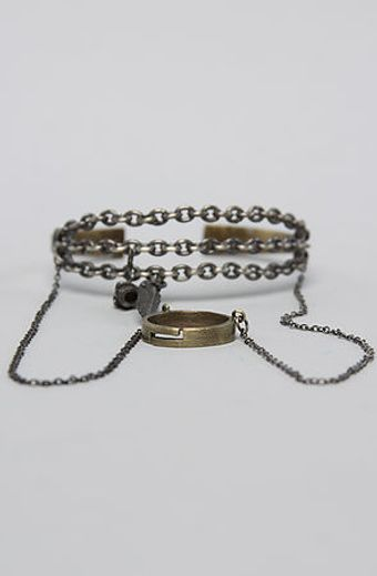 Obey The Chained Craft Bracelet - Lyst