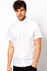 Paul Smith Poplin Short Sleeve Shirt - Lyst