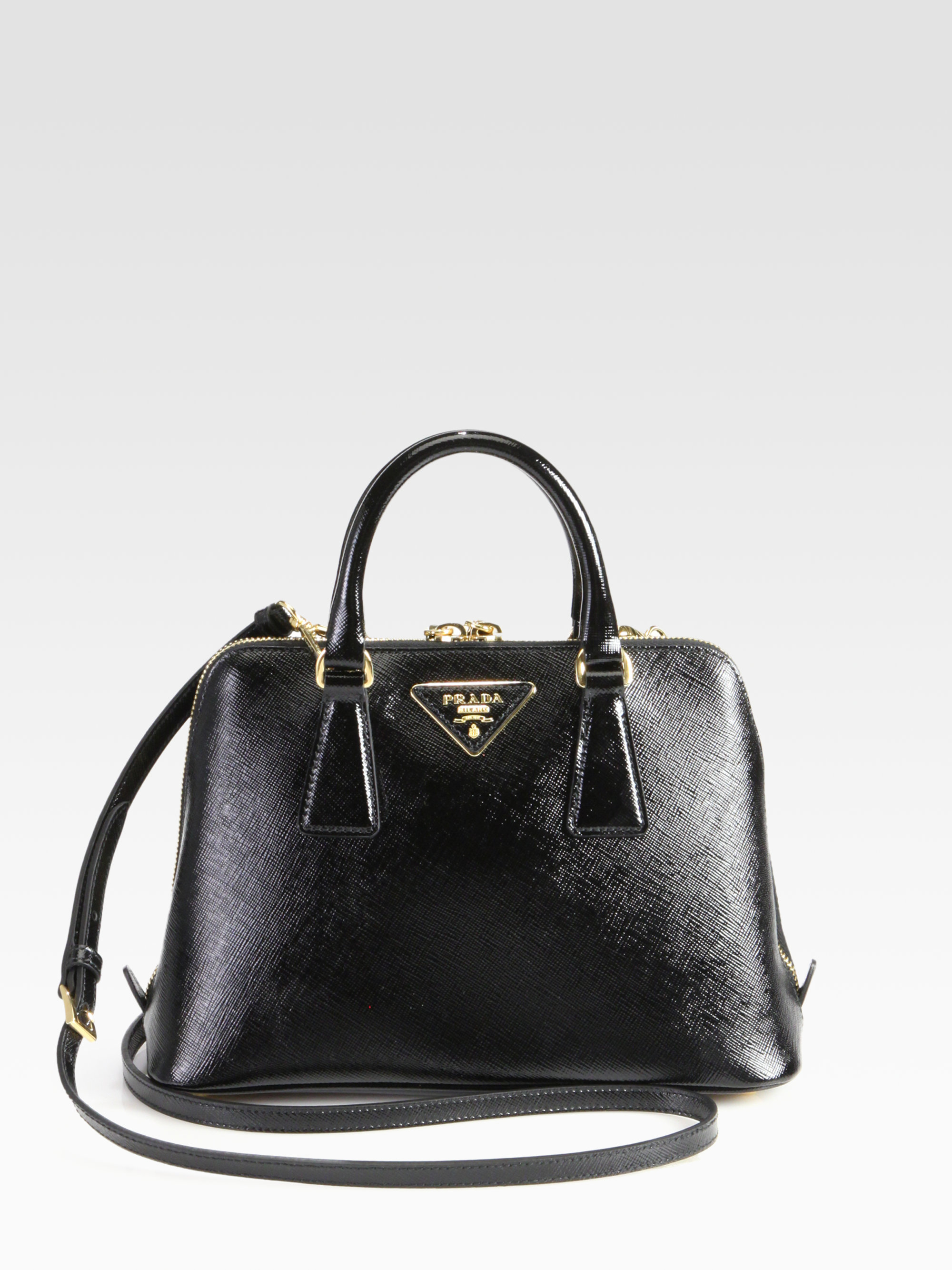 prada ostrich leather handbag - prada black saffiano bag