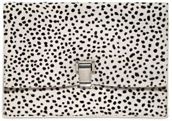 Proenza Schouler Small Lunch Dots Print Clutch - Lyst