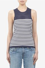 Rag & Bone Giselle Striped Tank Top - Lyst