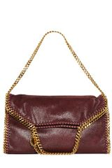 Stella McCartney Three Chain Falabella Shaggy Faux Deer - Lyst