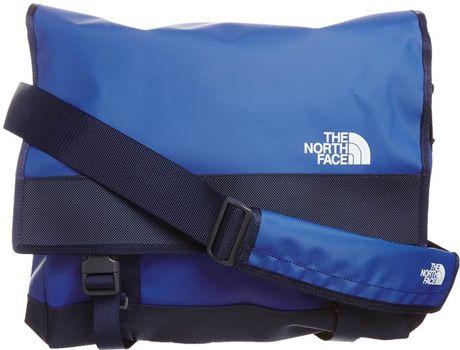 the north face bc messenger across body bag blue in blue. Black Bedroom Furniture Sets. Home Design Ideas