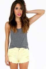 Tobi Sugar High Cutoff Shorts - Lyst