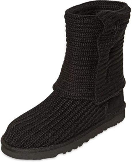 ugg cardy boots black