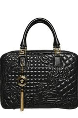 Versace Demetra Vanitas Barocco Top Handle Bag - Lyst
