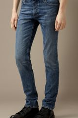 Burberry Steadman Vintage Slim Fit Jeans - Lyst