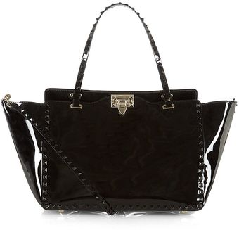 Valentino Punk Couture Medium Studded Tote - Lyst