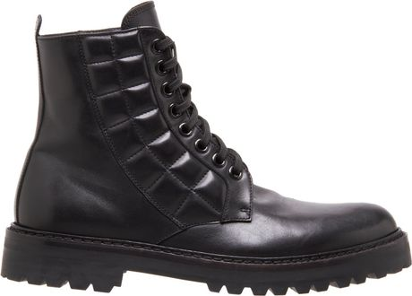 Quilted Combat Boots Quilted Combat Boot in