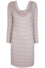 Blumarine Crochet Knit Dress - Lyst
