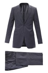 Gucci Brera Two Button Suit - Lyst