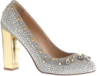 J.Crew Collection Etta Crystal and Stud Pumps - Lyst