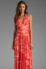 Rachel Pally Rib Stanley Maxi Dress in Orange - Lyst