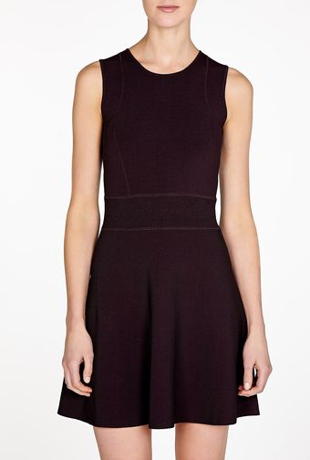 Theory Ventura Dominay Fit and Flare Dress - Lyst