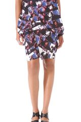 Zero + Maria Cornejo Hexagon Skirt - Lyst
