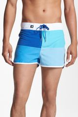 Andrew Christian Cove Swim Shorts - Lyst