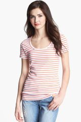 Caslon® Short Sleeve Scoop Neck Tee - Lyst