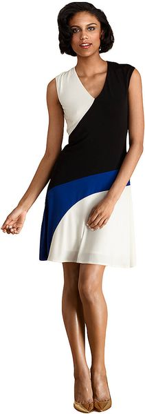 Donna Morgan Cap Sleeve Dress - Lyst