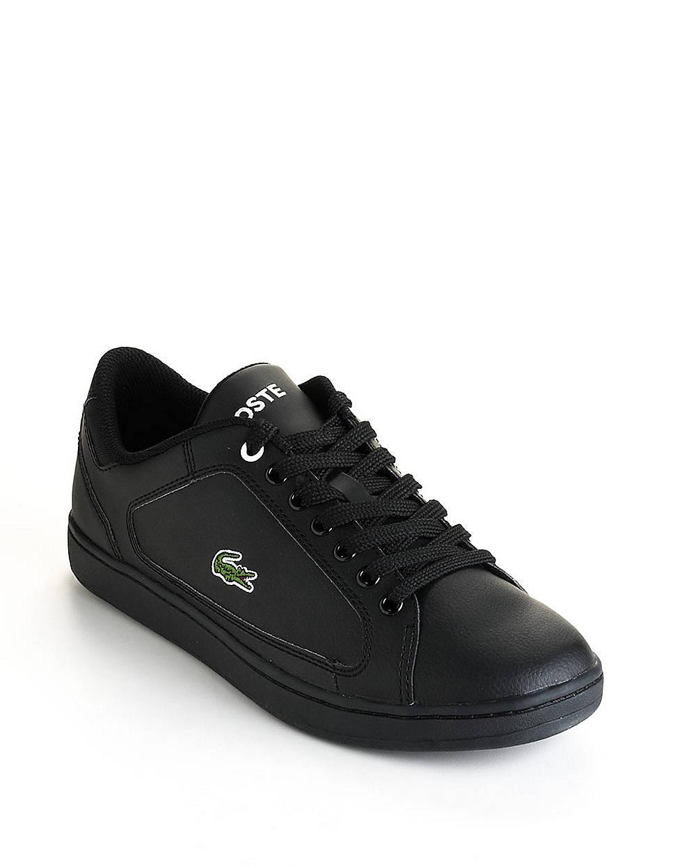 3eac831dec0ba Lacoste Nistos Tennis Shoes in Black for Men - Lyst