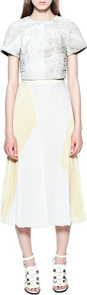 Proenza Schouler Perch Short Sleeved Shell - Lyst