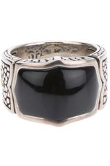 Stephen Webster Chunky Engraved Ring - Lyst