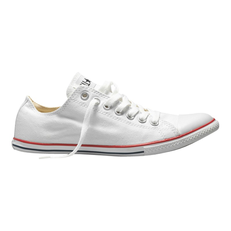 75fc41b40b9 Converse Chuck Taylor All Star Slim Ox Trainers in White for Men - Lyst