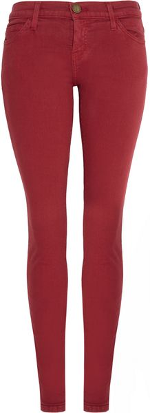 Current/Elliott The Ankle Lowrise Skinny Jeans - Lyst