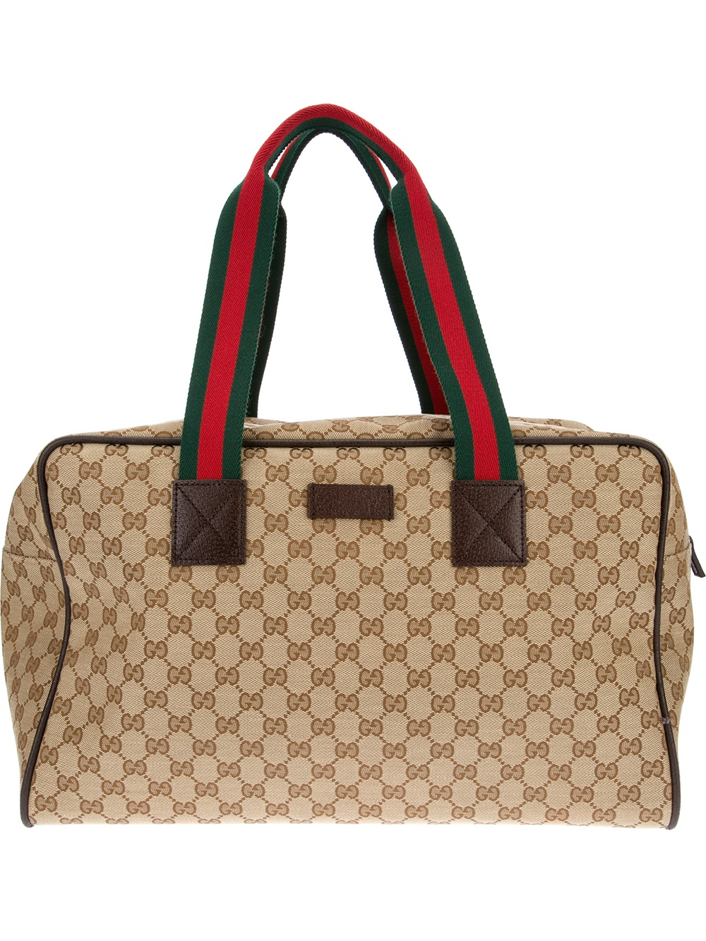 bf38cd6394c Lyst - Gucci Monogram Hold All in Natural for Men