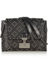 Marc Jacobs Baroque Quilted Studded Leather Shoulder Bag - Lyst