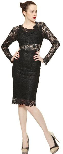 Maria Lucia Hohan Long Sleeved Cotton Lace Dress - Lyst