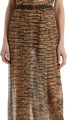 Missoni Metallic Striped Dress - Lyst