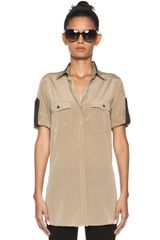 Rag & Bone Midnight Shirt in Brown - Lyst