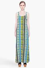 Thakoon Addition Long Striped Tank Dress - Lyst