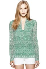 Tory Burch Stephanie Tunic - Lyst