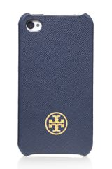 Tory Burch Robinson Saffiano Hardshell Case For Iphone 4 - Lyst