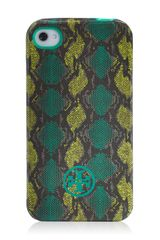 Tory Burch Pop Snake Soft Phone Case For Iphone 4 - Lyst