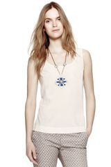 Tory Burch Elise Top - Lyst