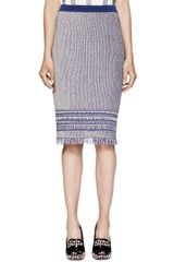 Tory Burch Brielle Skirt - Lyst