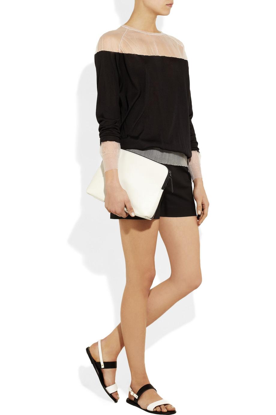 Black Clio Leather Sandals Ancient Greek Sandals ZiXk3
